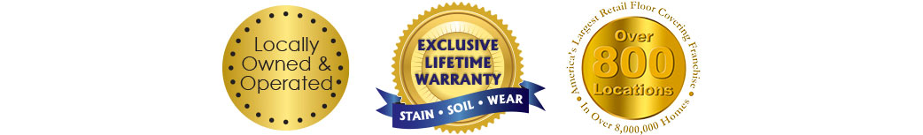 Locally Owned & Operated - Exclusive Lifetime Warranty - Over 800 Locations Nationwide