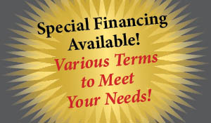 Special financing available at Clarksville Abbey Carpet this month!  Various terms to meet your needs!  Click here for more details!
